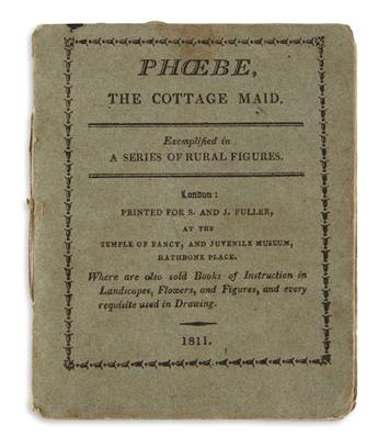 (CHILDRENS LITERATURE.) Phoebe, The Cottage Maid. Exemplified in a Series of Rural Figures.
