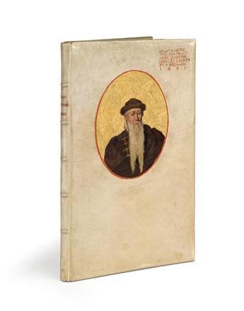(BINDINGS / PRINTING.) Dingelstedt, Franz von. Jean Gutenberg, Premier Maitre Imprimeur.