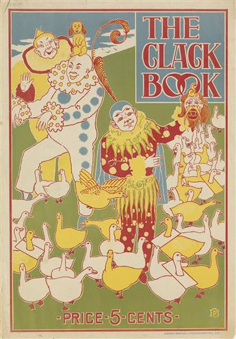 F.D. SCHOOK (DATES UNKNOWN). THE CLACK BOOK. Circa 1896. 20x14 inches, 52x36 cm. Grand Rapids Lithographing Co., Michigan.