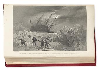 (ARCTIC.) Back, George. Narrative of an Expedition in H.M.S. Terror . . . to Geographical Discovery on the Arctic Shores.