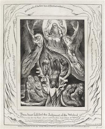 WILLIAM BLAKE Thou Hast Fulfilled the Judgment of the Wicked.