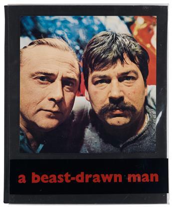 APPEL, KAREL; and BERT SCHIERBEEK / CONTEMPORARY ART. A Beast-Drawn Man.