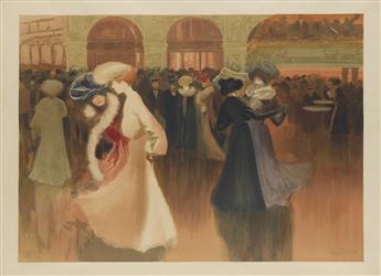 LOUIS ABEL-TRUCHET (1857-1918). LES DANSEUSE. 1900. 23x31 inches, 59x80 cm. [Eugène Verneau, Paris.]