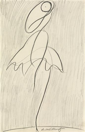 ABRAHAM WALKOWITZ Three figure drawings.