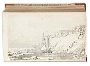 (ARCTIC.) Beechey, Frederick W. Narrative of a Voyage to the Pacific and Beerings Strait, to Co-operate with the Polar Expeditions,