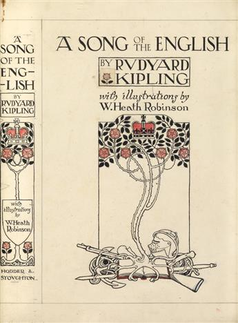 (LITERATURE.) W. HEATH ROBINSON. A Song of the English.