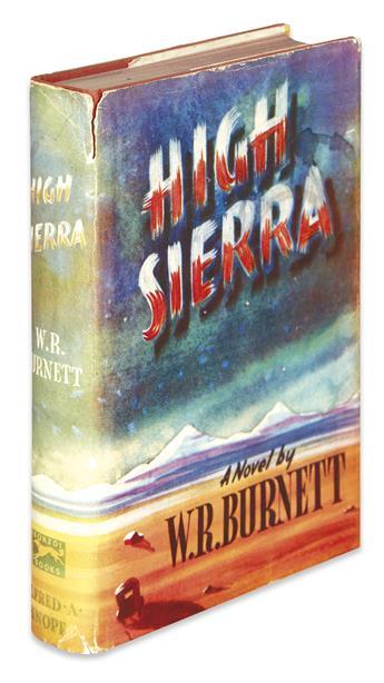 BURNETT, W.R. High Sierra.
