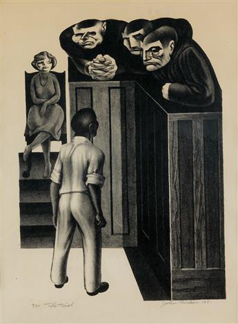 JOHN WILSON (1912 - 2015) The Trial.
