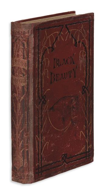 (CHILDRENS LITERATURE.) SEWELL, ANNA. Black Beauty: His Grooms and Companions. The Autobiography of a Horse.