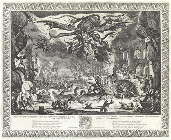 JACQUES CALLOT La Tentation de Saint-Antoine.