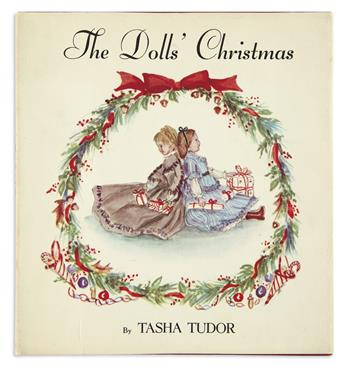 (CHILDRENS LITERATURE.) TUDOR, TASHA. The Dolls Christmas.
