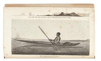 (ARCTIC.) Chappell, Edward. Narrative of a Voyage to Hudsons Bay in His Majestys Ship Rosamond,