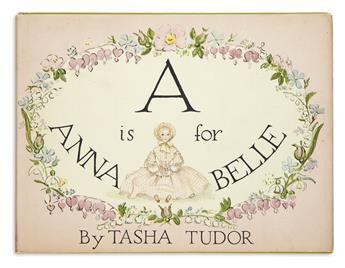 (CHILDRENS LITERATURE.) TUDOR, TASHA. A is for Annabelle.