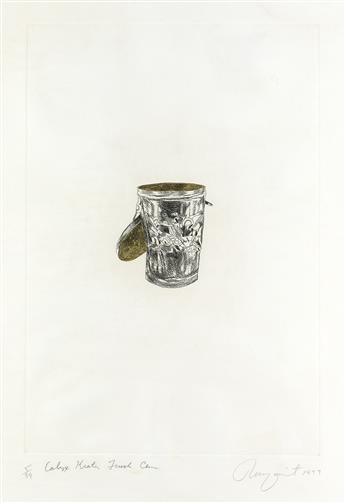 JAMES ROSENQUIST Calyx-Krater Trash Can.