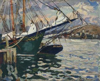 HAYLEY LEVER Gloucester Harbor.