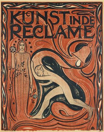 JAN BERTYS HEUKELOM (1875-1965). KUNST IN DE RECLAME. 1917. 39x30 inches, 99x78 cm. [J.A. Luii & Co, Amsterdam.]