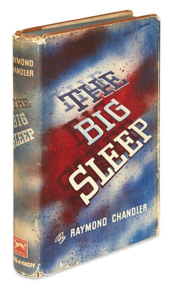 CHANDLER, RAYMOND. The Big Sleep.