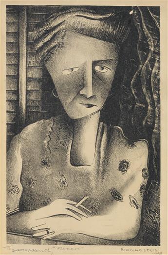 NORMAN LEWIS (1909 - 1979) Madam.