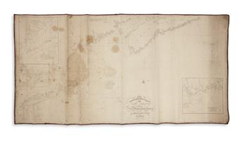 BLUNT, EDMUND. The North Eastern Coast of North America from New York to Cape Canso Including Sable Island.