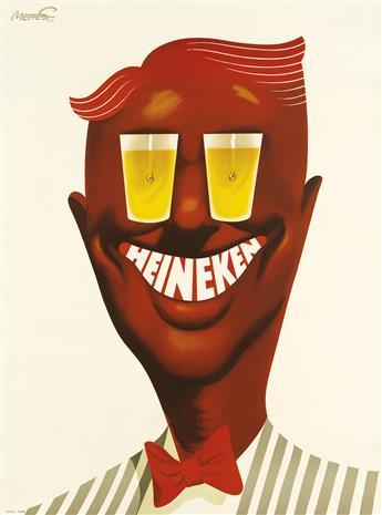 FRANS METTES (1909-1984). HEINEKEN. 1951. 42x31 inches, 108x80 cm. Luii & Co., Amsterdam.