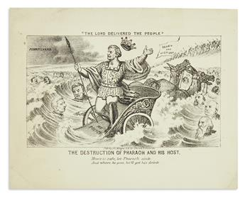 (PRESIDENTS--1866.) Magee, John L. The Destruction of Pharaoh and his Host.