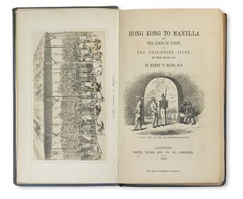 ELLIS, HENRY. Hong Kong to Manilla and the Lakes of Luzon . . . in the Year 1856.  1859