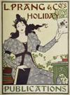 LOUIS J. RHEAD (1857-1926) L. PRANG & COS HOLIDAY PUBLICATIONS. 1895. 21x16 inches.