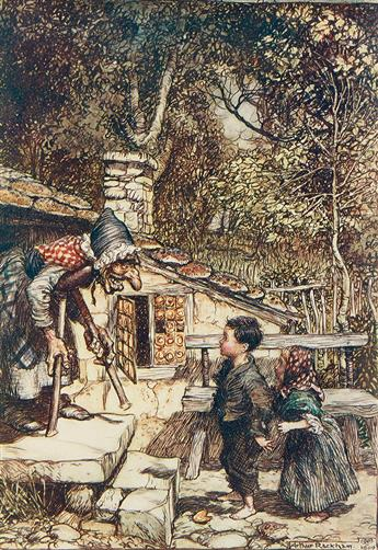 GRIMM BROTHERS. ARTHUR RACKHAM.  Grimms Fairy Tales.