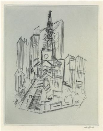 JOHN MARIN St. Pauls, New York.