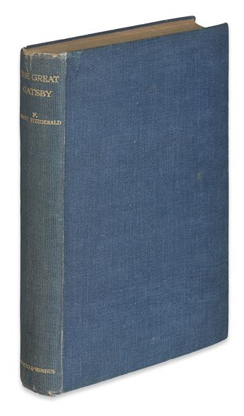 FITZGERALD, F. SCOTT. The Great Gatsby