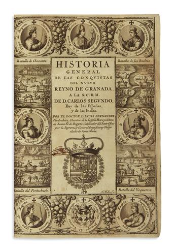 (COLOMBIA.) Fernández de Piedrahita, Lucas. Historia general de las conquistas del Nuevo Reyno de Granada.