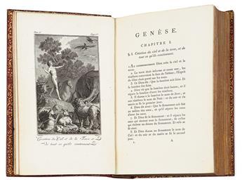 (BIBLE.) La Sainte Bible.