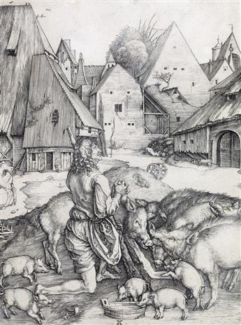 ALBRECHT DÜRER The Prodigal Son.