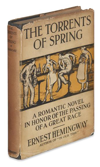 HEMINGWAY, ERNEST. The Torrents of Spring.