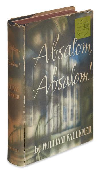 FAULKNER, WILLIAM. Absalom, Absalom!