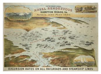 BOWMAN, SAM. W. International Naval Rendezvous Hampton Roads, Va. April and May 1893.