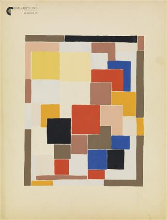 SONIA DELAUNAY Compositions, Couleurs, Idees.