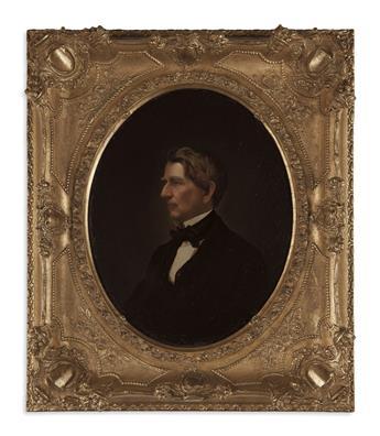 (PAINTINGS.) Portrait of Secretary of State William H. Seward.