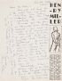 MILLER, HENRY. Archive of 20 letters, to Bart Winer, the editor of Tricolor, concerning Millers article on obscenity