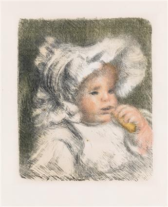 PIERRE-AUGUSTE RENOIR LEnfant au biscuit (Jean Renoir).