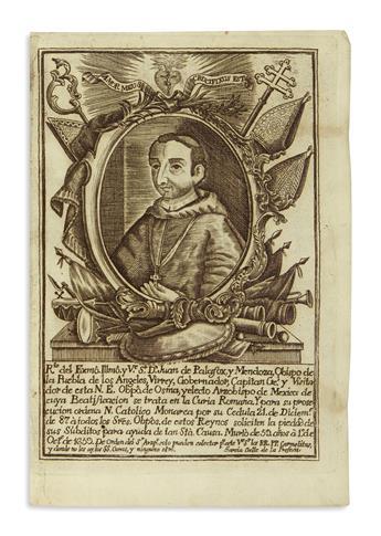 (MEXICAN IMPRINT--1698.) Constituciones de la Provincia de San Diego de Mexico de los Menores descalcos.