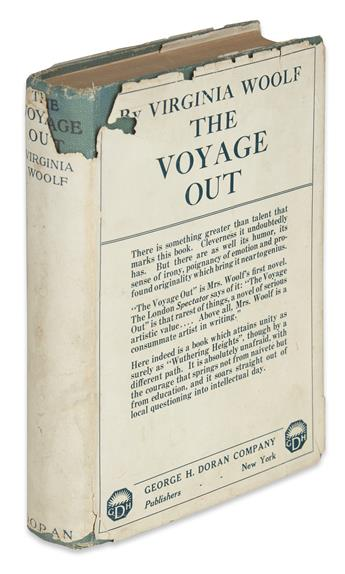 WOOLF, VIRGINIA. The Voyage Out.