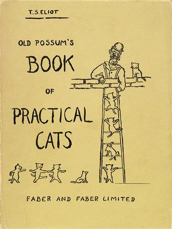 ELIOT, T.S. Old Possums Book of Practical Cats.