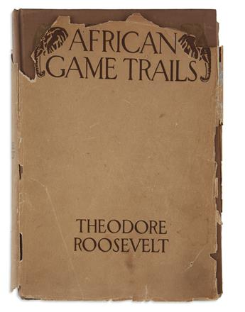 ROOSEVELT, THEODORE. African Game Trails: An Account of the African Wanderings of an American Hunter-Naturalist.