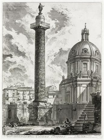 GIOVANNI B. PIRANESI Colonna Trajana.