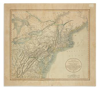 CARY, JOHN. A New Map of Part of the United States of North America,
