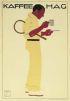 KAFFEE HAG. 1913. 34x23 inches. Oscar Conseé, Munich.