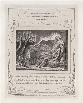 WILLIAM BLAKE Illustrations of the Book of Job.