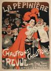 JULES ALEXANDRE GRÜN (1868-1938) LA PEPINIERE. 1898. 50 x 36 inches. Chaix. Paris.