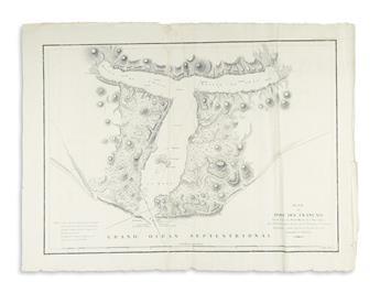 (ALASKA.) La Perouse, Jean-François de Galaup. Plan du Port des Français sur la Cote du Nord-Ouest de lAmerique.